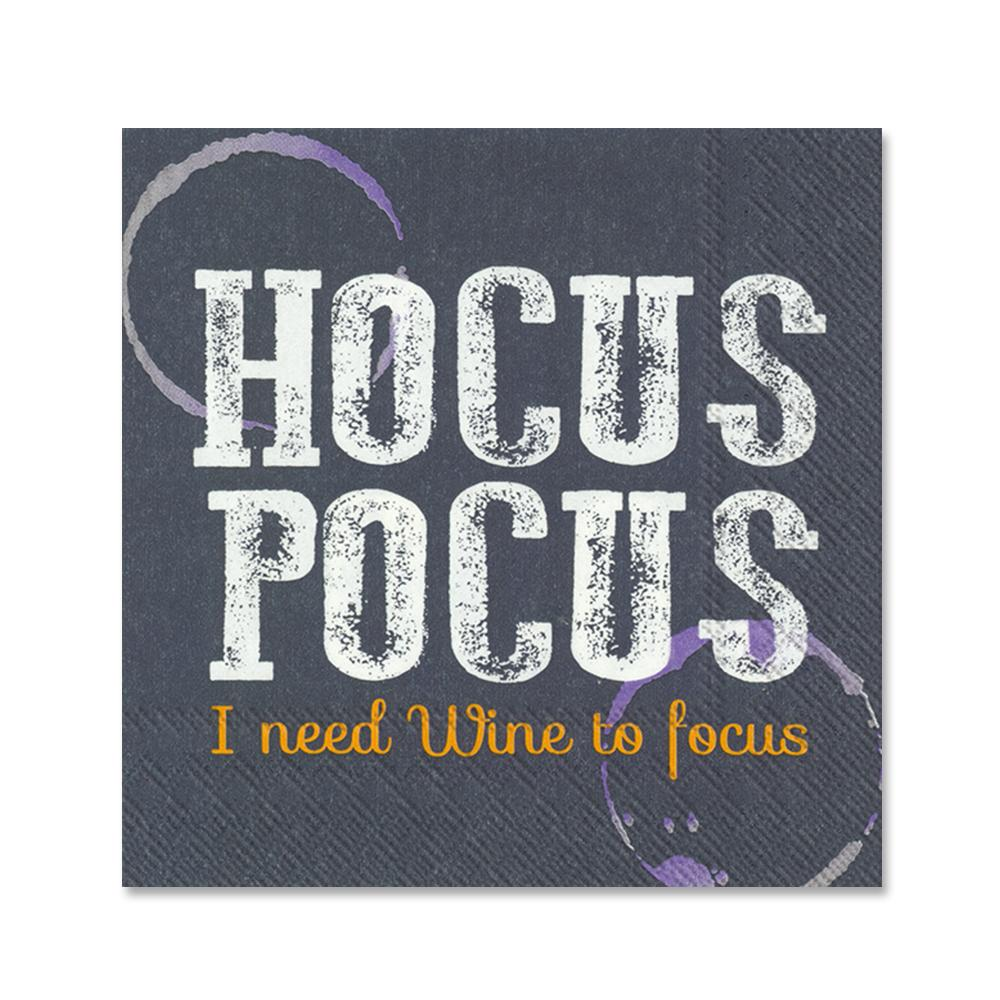 Hocus Pocus Halloween Party Beverage Napkins