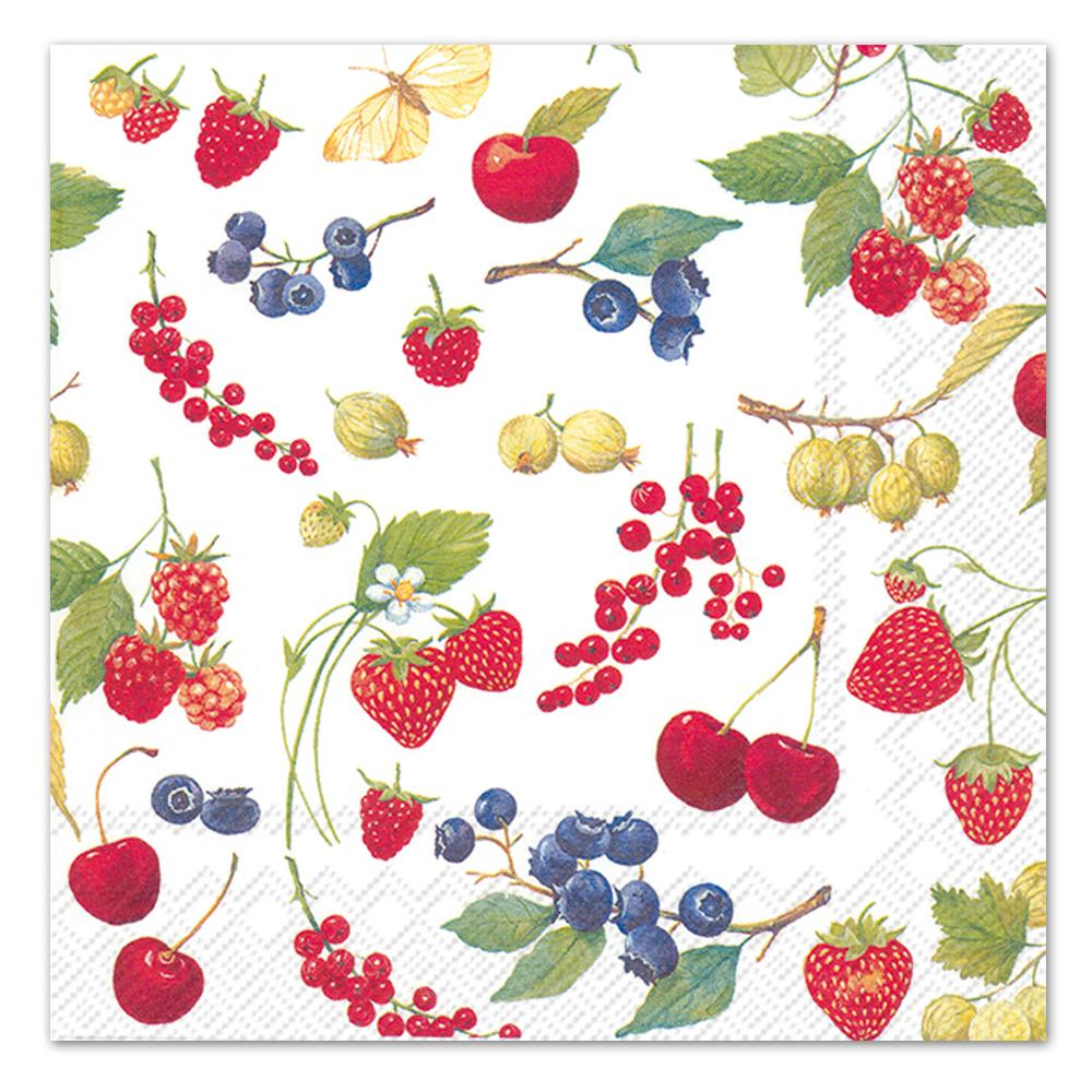 Summer Fruits Paper Luncheon Napkins