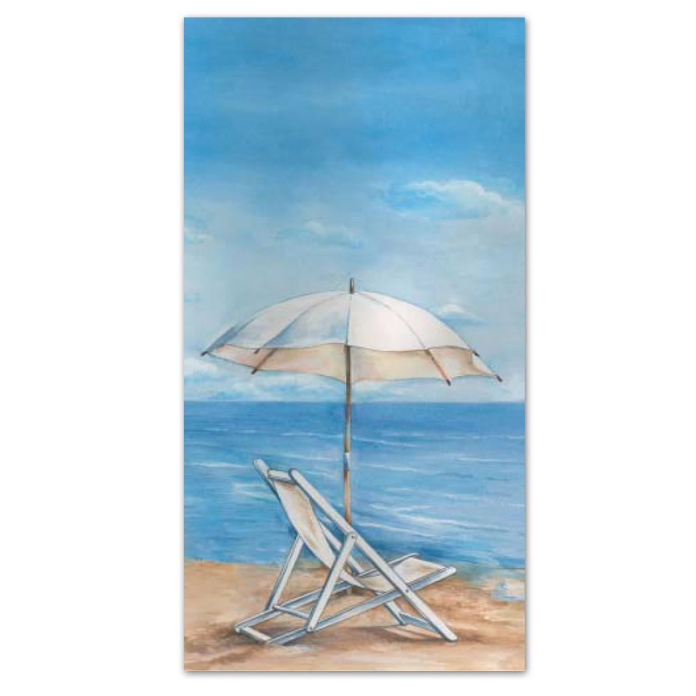 Blue Horizon Beach Paper Guest Towels