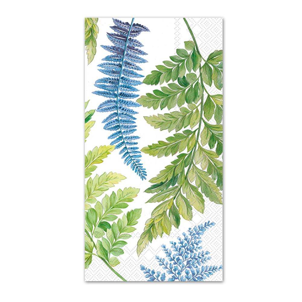 Arwea Botanical Ferns Paper Guest Towels - Buffet Napkins