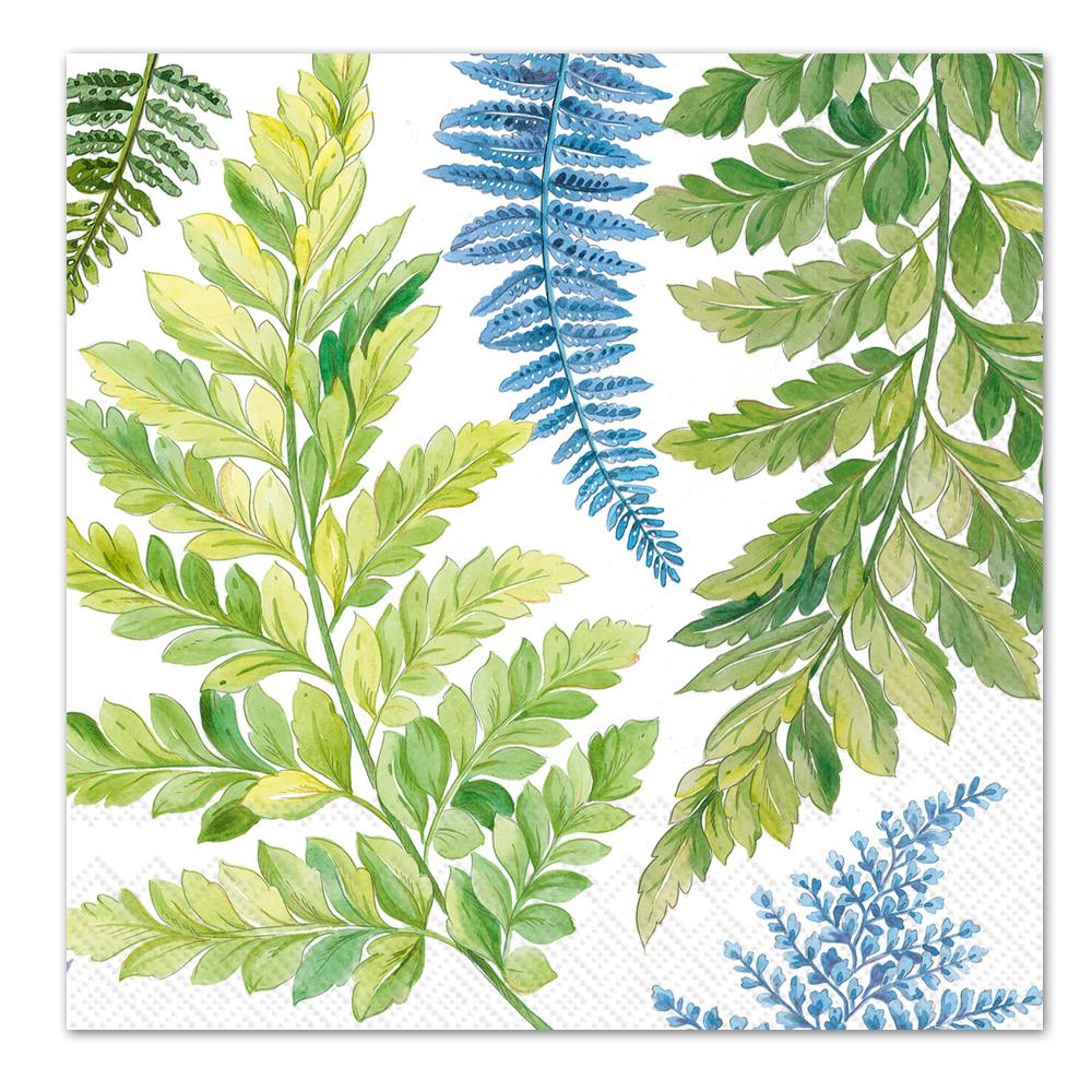 Arwea Botanical Ferns Paper Luncheon Napkins