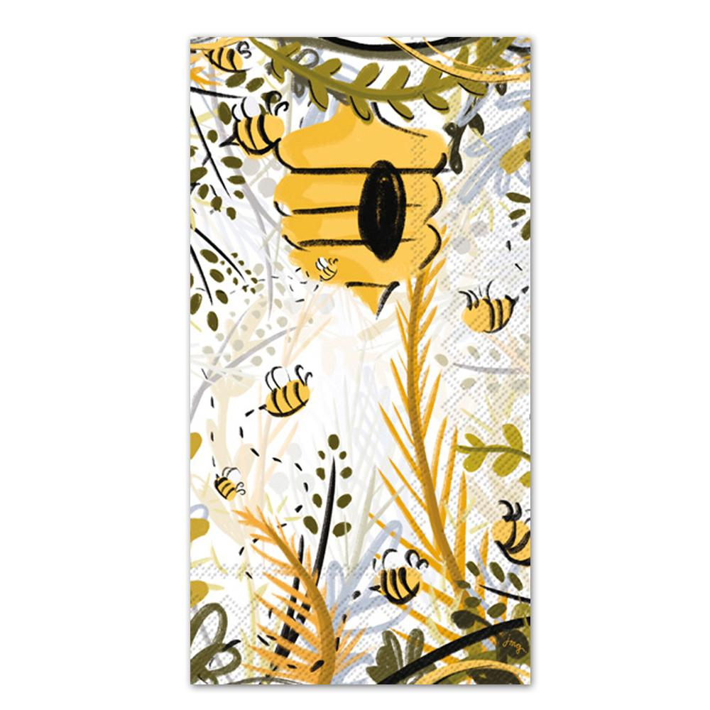 Honey Bee Haven Paper Guest Towels - Buffet Napkins