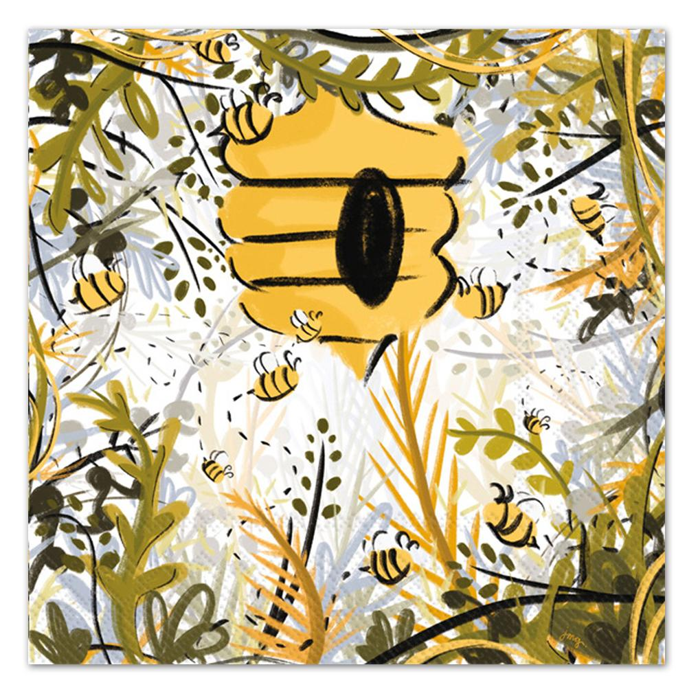 Honey Bee Haven Paper Luncheon Napkins