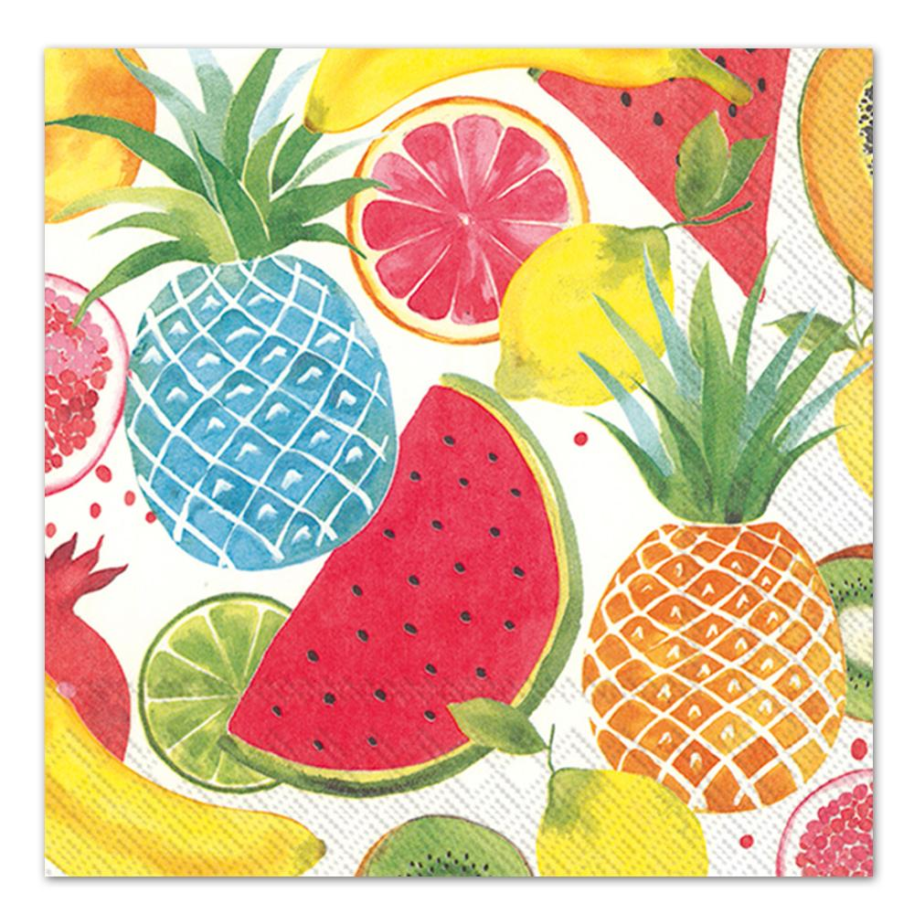 Fruity Fruits Paper Luncheon Napkins