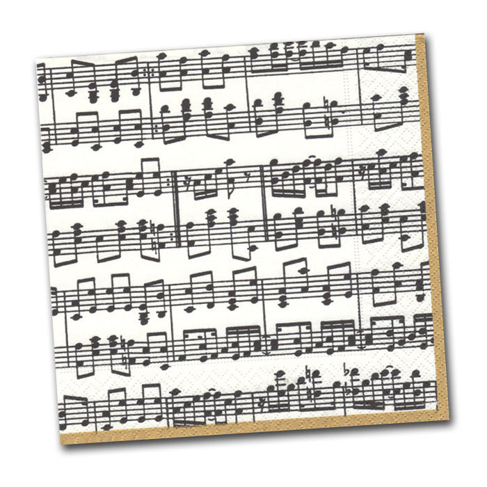 Musica Paper Napkins - Luncheon