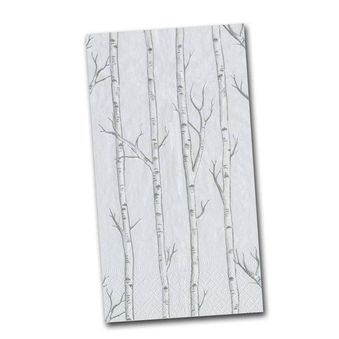 Birch Trees Paper Guest Towels -Buffet Napkins