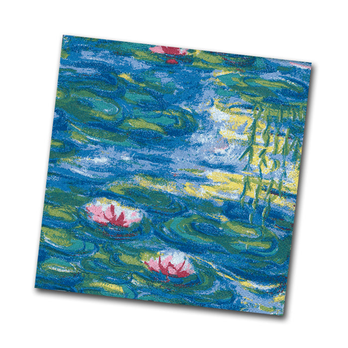 Monet's Nympheas Paper Napkins - Beverage