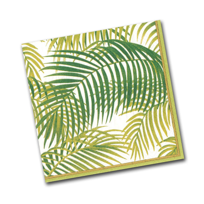 Under the Palms Paper Napkins - Beverage