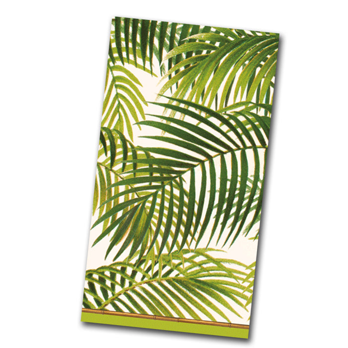 Under the Palms Paper Guest Towels -Buffet Napkins
