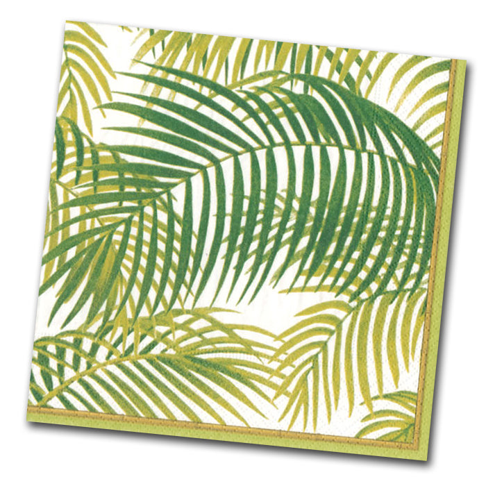 Under the Palms Paper Napkins - Luncheon