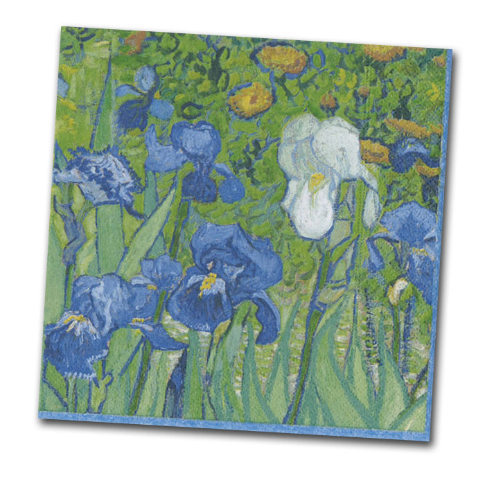 Irises by Van Gogh Paper Napkins - Luncheon