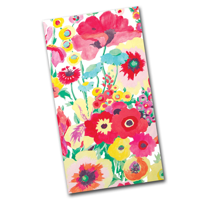 Secret Garden Paper Guest Towels -Buffet Napkins