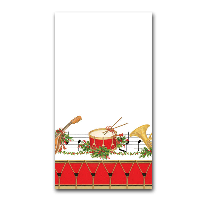 Christmas Concert Guest Towels -Buffet Napkins