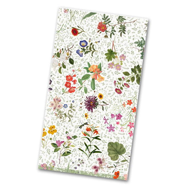English Country Garden Guest Towels - Napkins