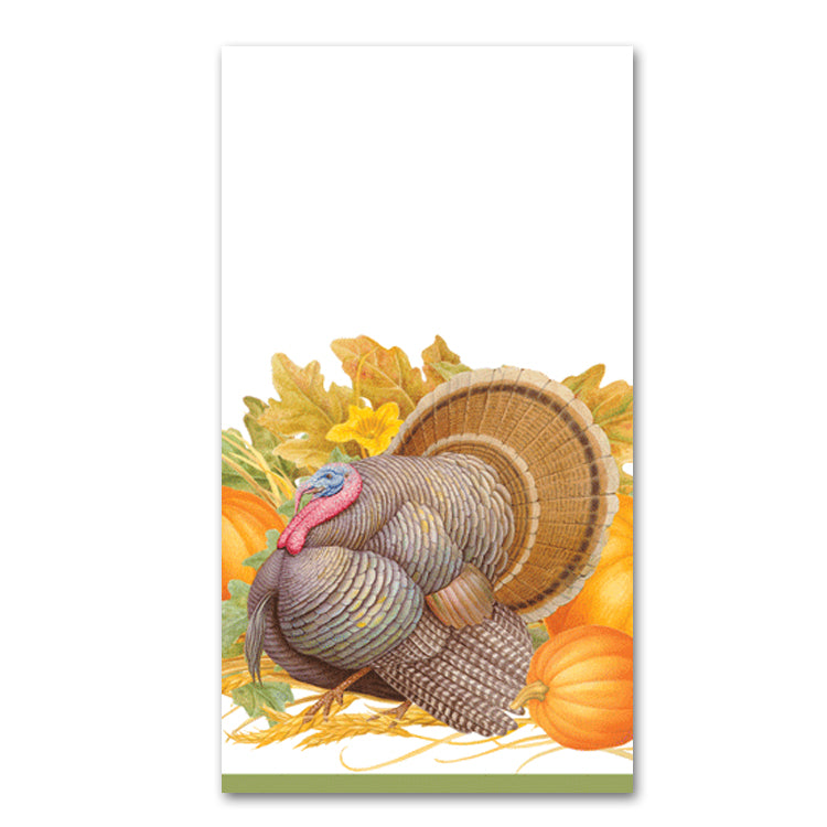 Thanksgiving Harvest Guest Towels - Buffet Napkins