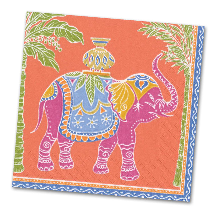 Royal Elephant Orange - Luncheon Napkins
