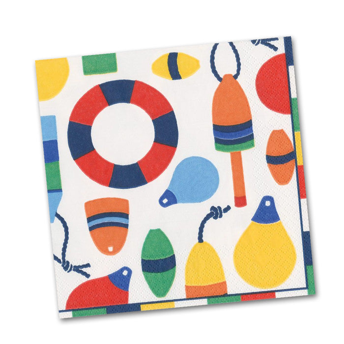 Harbor - White Paper Beverage Napkins