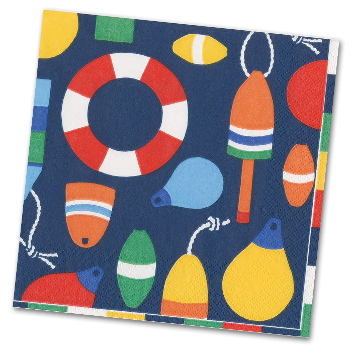 Harbor - Navy Paper Luncheon Napkins