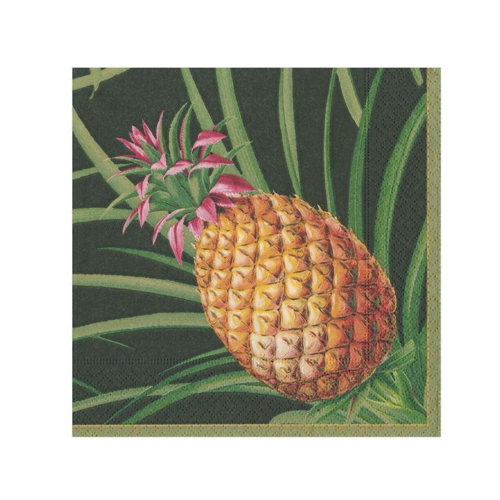Tropical Fruit Paper Napkins - Beverage