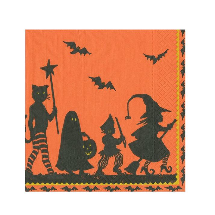 Halloween Parade Paper Napkins - Beverage