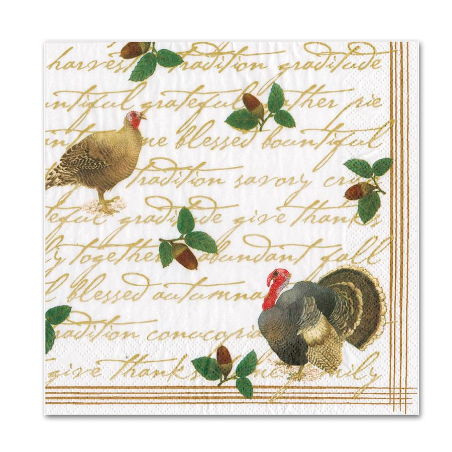 Founders Thanksgiving Paper Luncheon Napkins