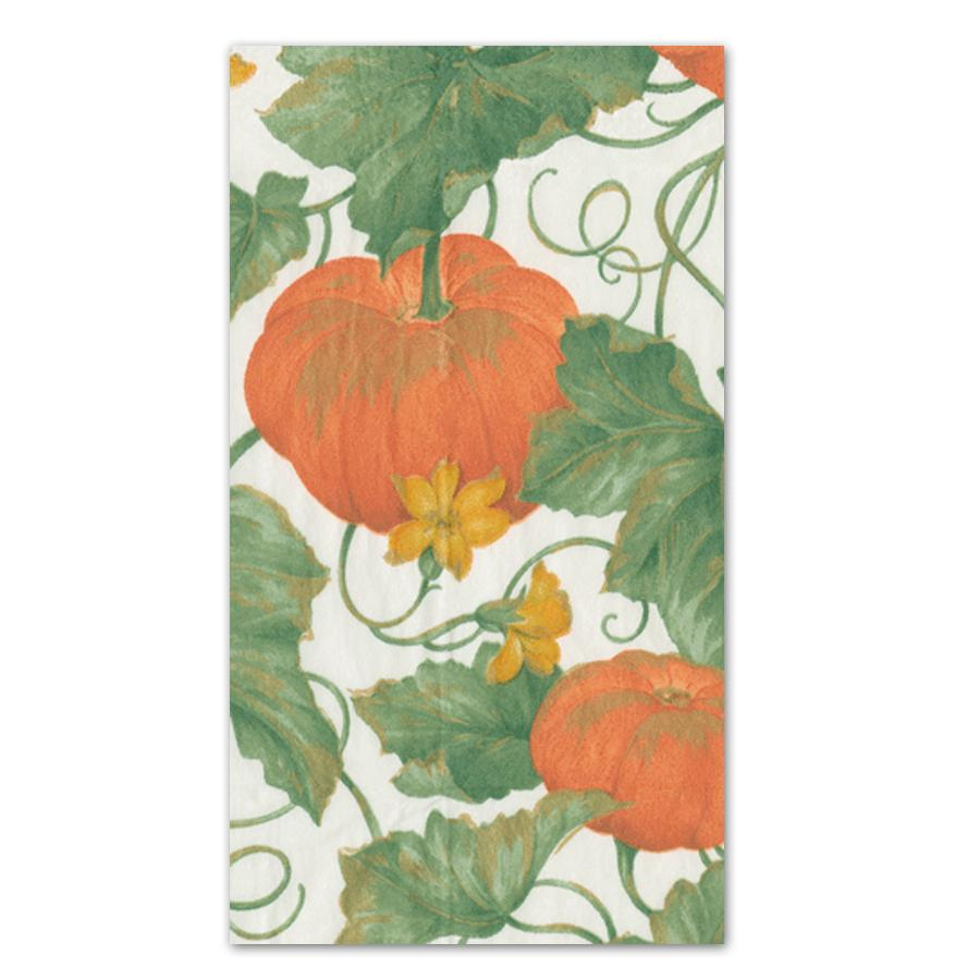 Heirloom Pumpkins Ivory Paper Guest Towels