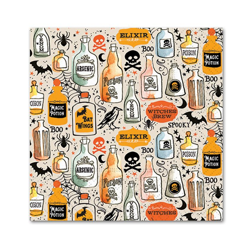 Choose Your Poison Halloween Party Napkins