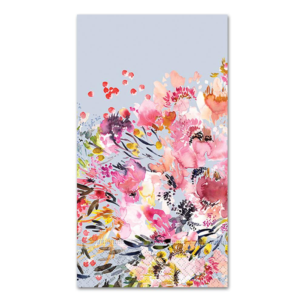 Wildflower Dreams Paper Guest Towels - Buffet Napkins