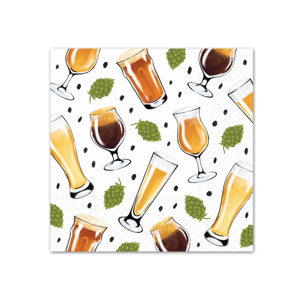 Perfect Pairings Beer Paper Beverage Napkins