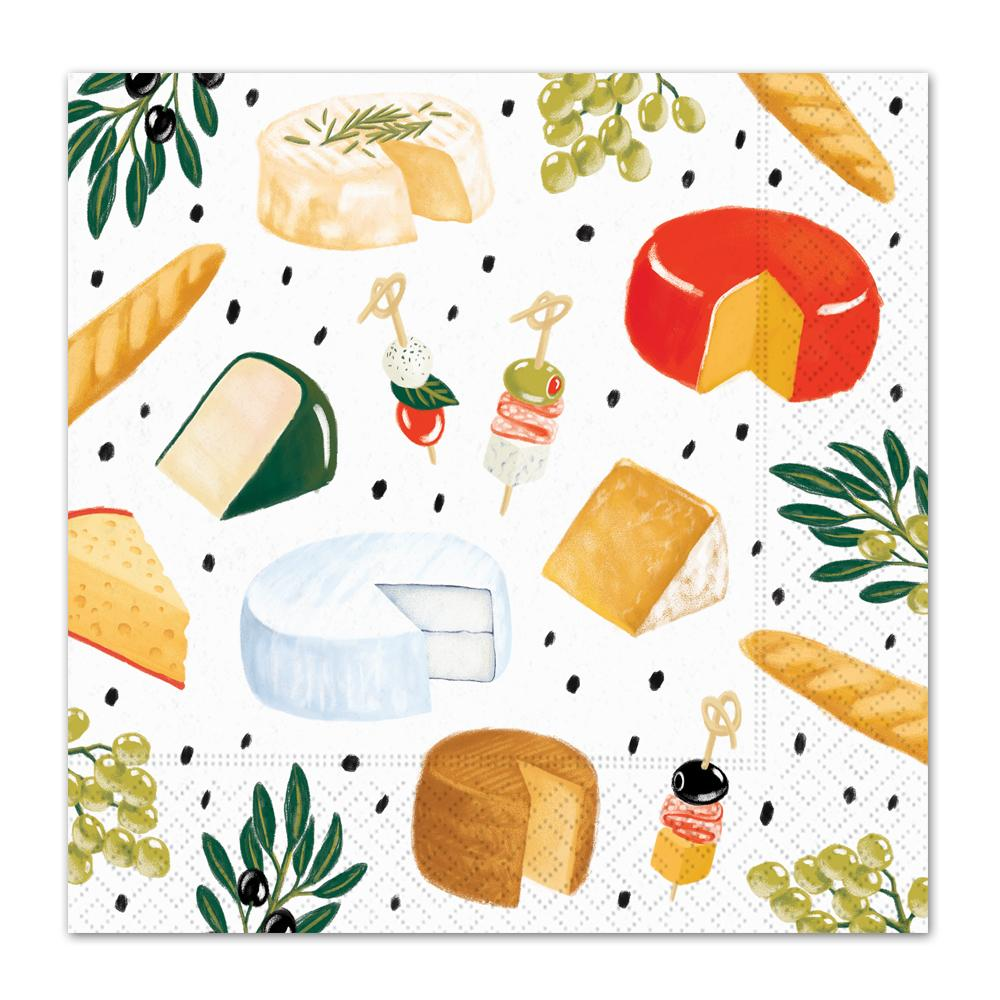 Perfect Pairings Party Food Luncheon Napkins