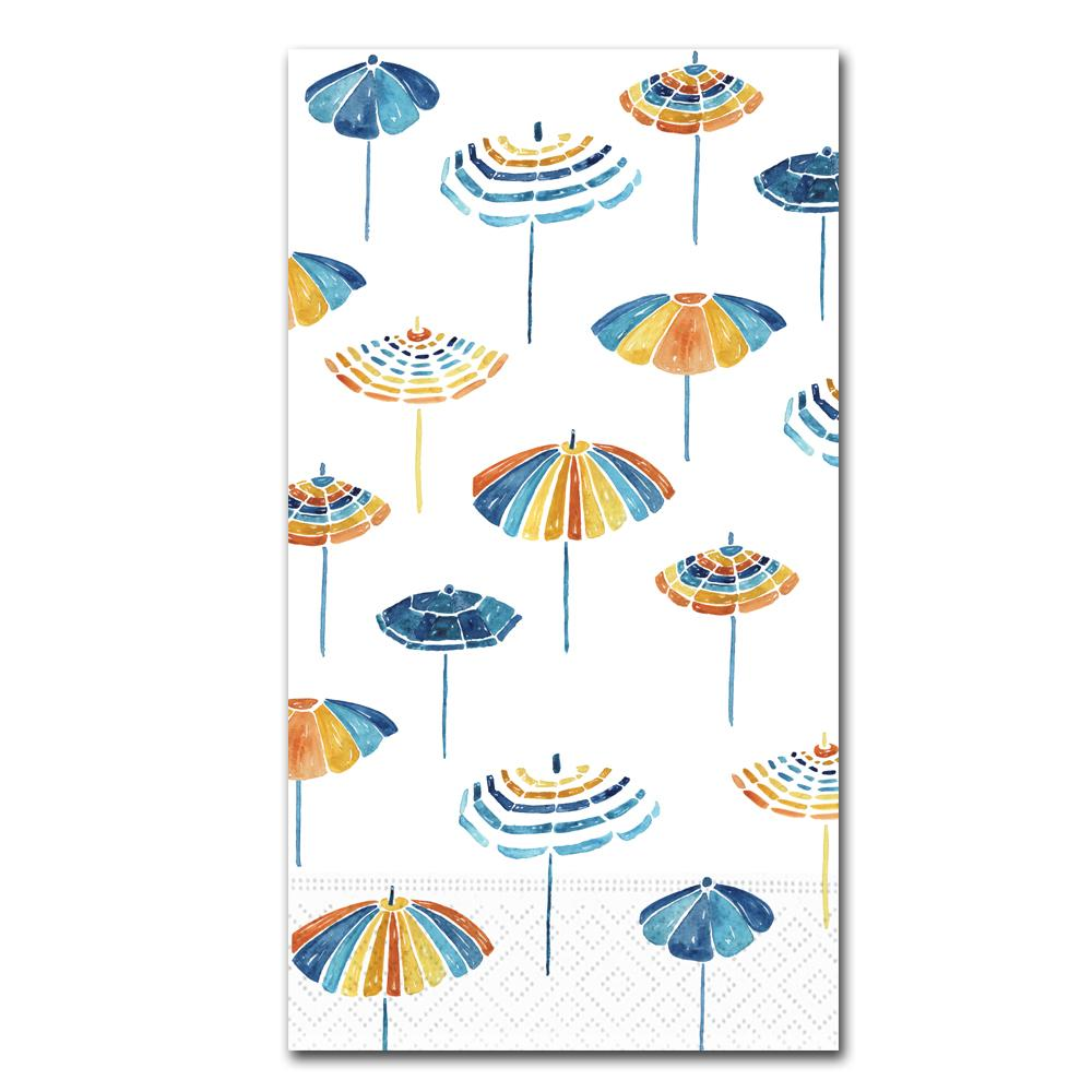 Beach Umbrellas Paper Guest Towels