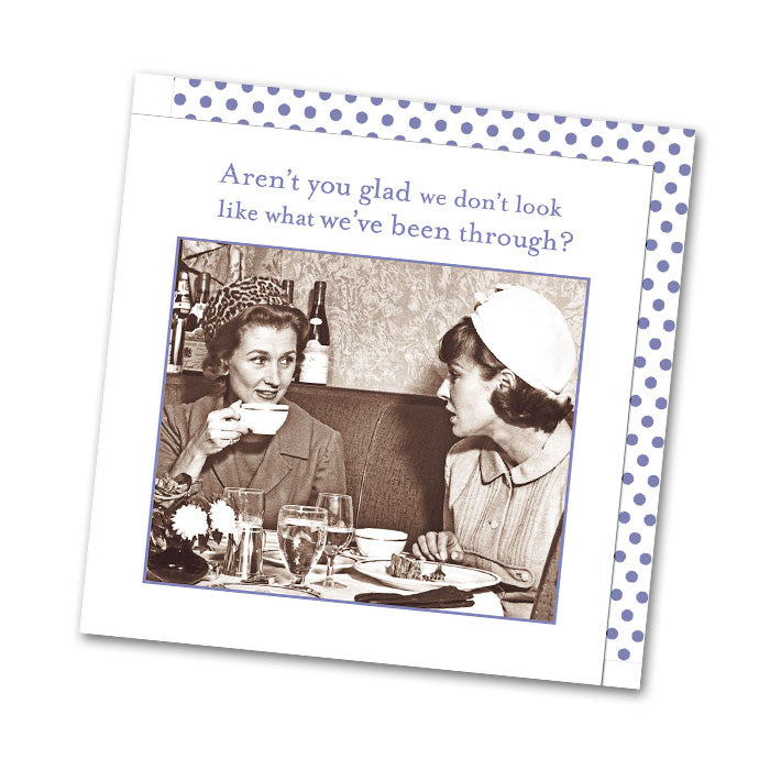 Aren't You Glad, Funny Cocktail Napkins