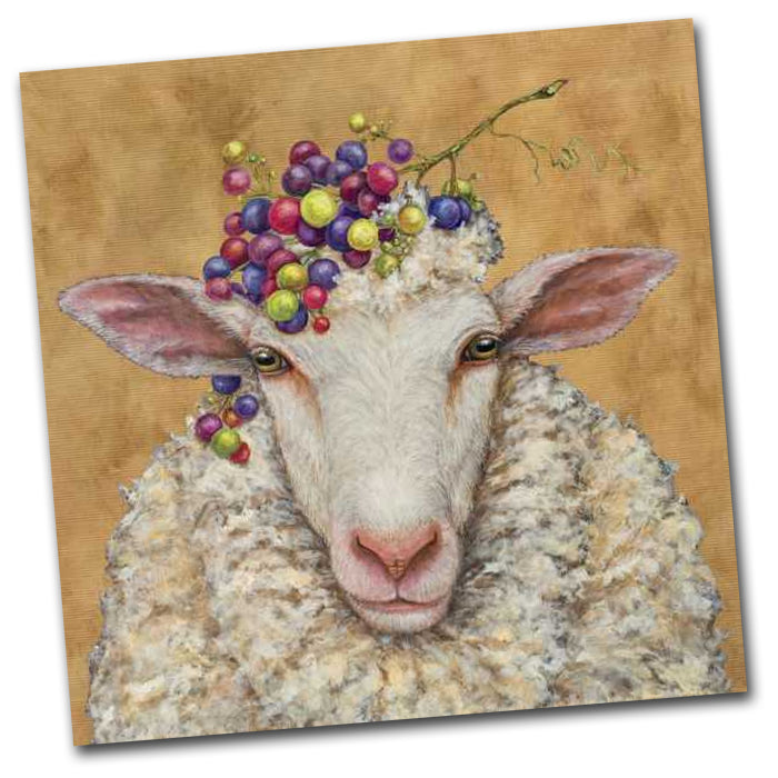 Vinyard Sheep Paper Napkins - Luncheon