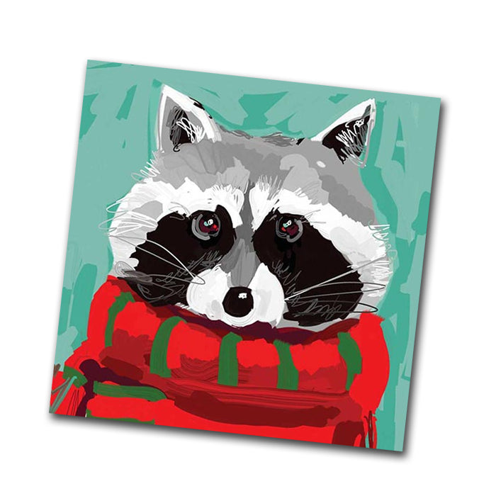 Ricky Raccoon Paper Napkins - Beverage