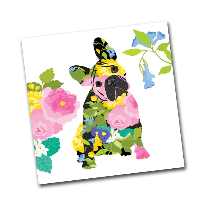 Brigitte the Dog Paper Napkins - Beverage