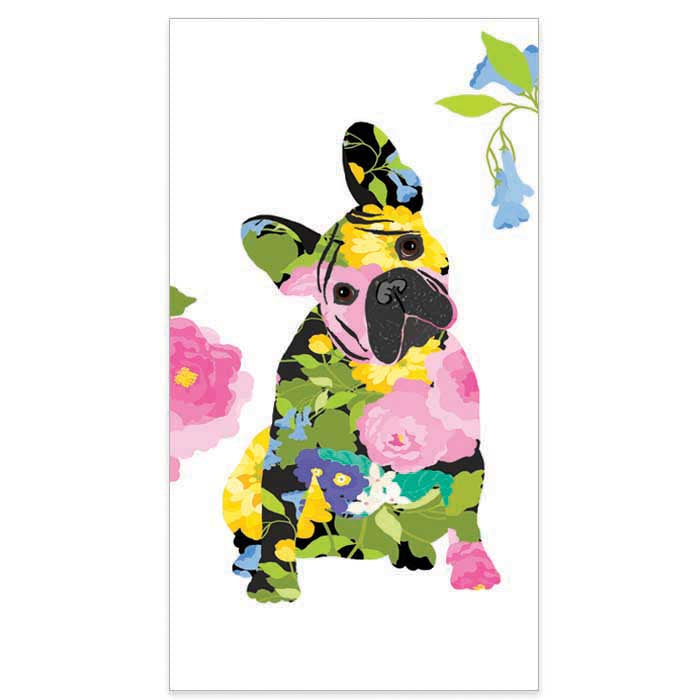Brigitte the Dog Paper Guest Towels - Buffet Napkins