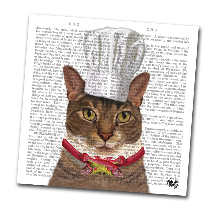Charlie the Cat Chef Paper Napkins - Luncheon
