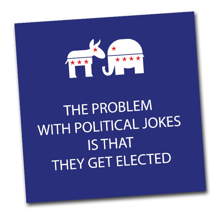 Political Jokes Cocktail Napkins