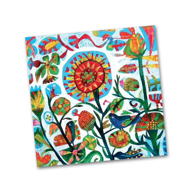 Quito Garden Napkins by Este MacLeon - Beverage