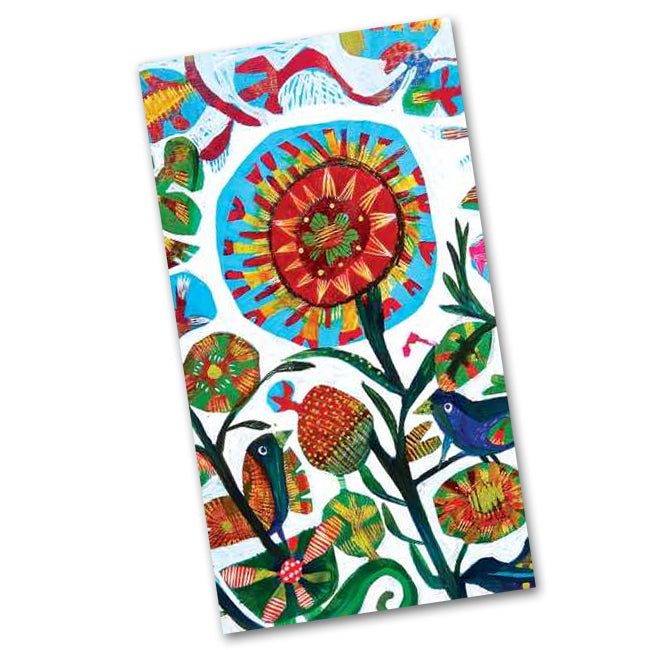 Quito Garden Paper Guest Towels - Buffet Napkins