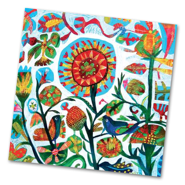 Quito Garden Napkins by Este MacLeon - Luncheon