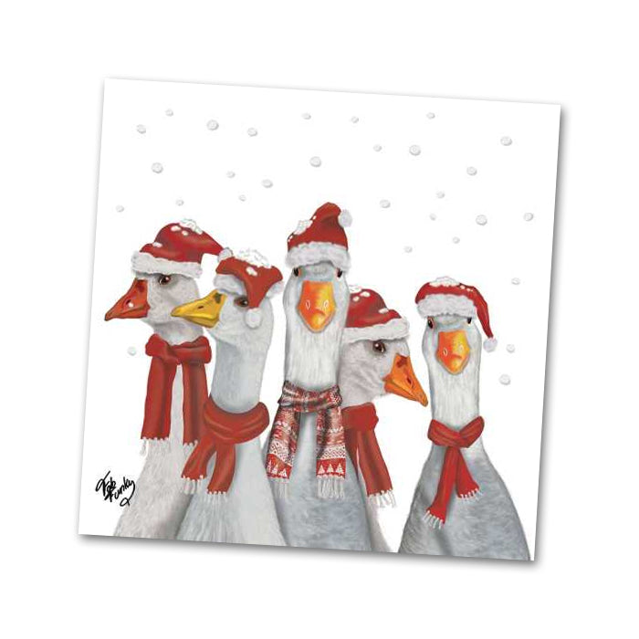 The Gaggle Group Beverage Napkins