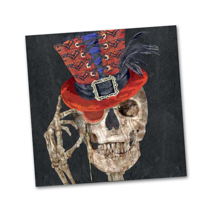 Mr. Bones Halloween Beverage Napkins