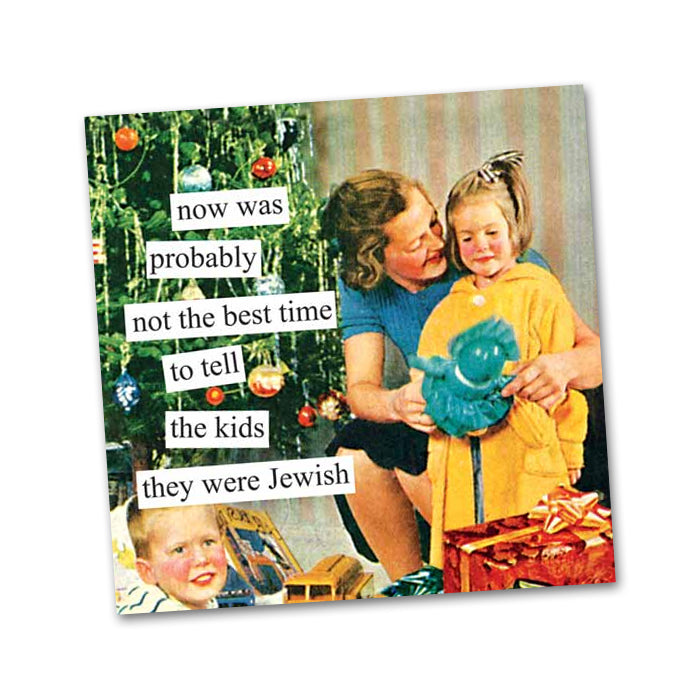 Tell the Kids Funny Cocktail Napkins