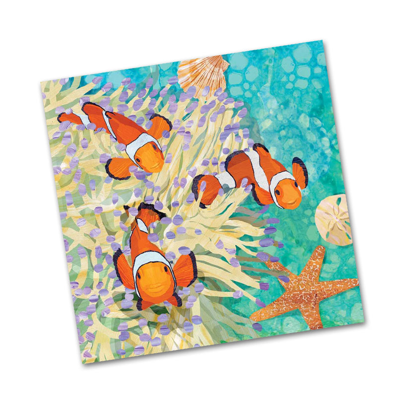 Ellen and Friends Clownfish Beverage Napkins