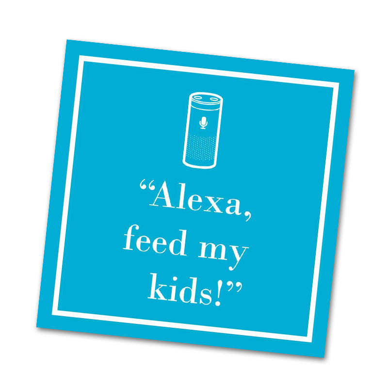 Alexa, Funny Cocktail Napkins