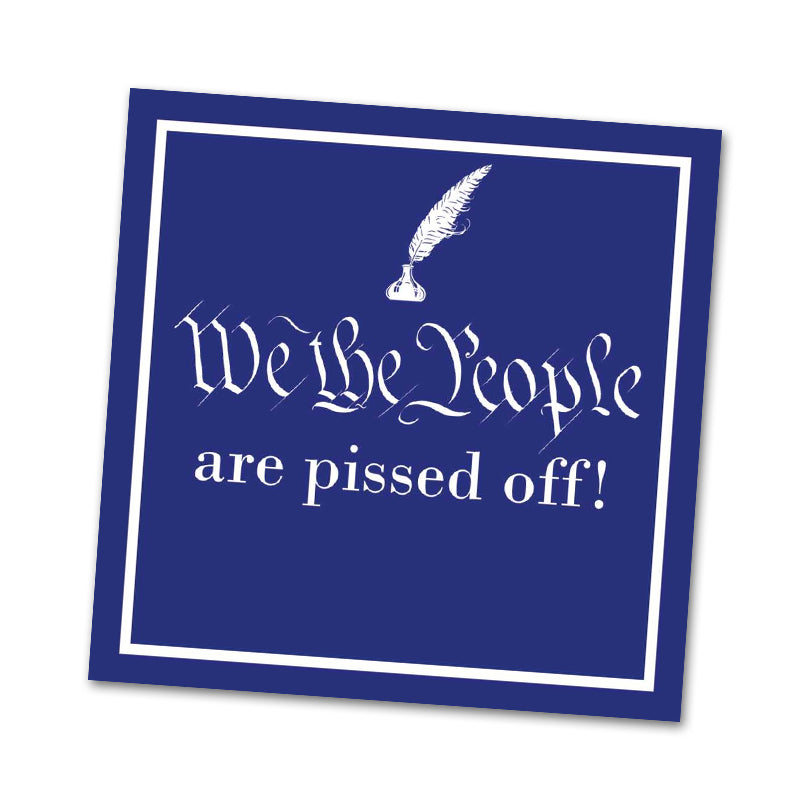 We The People, Funny Political Cocktail Napkins
