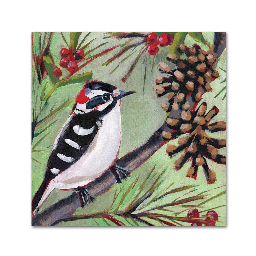 Winter Bird Musee Napkins - Beverage