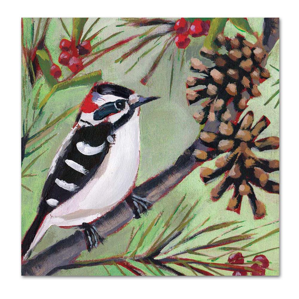 Winter Bird Musee Napkins - Luncheon