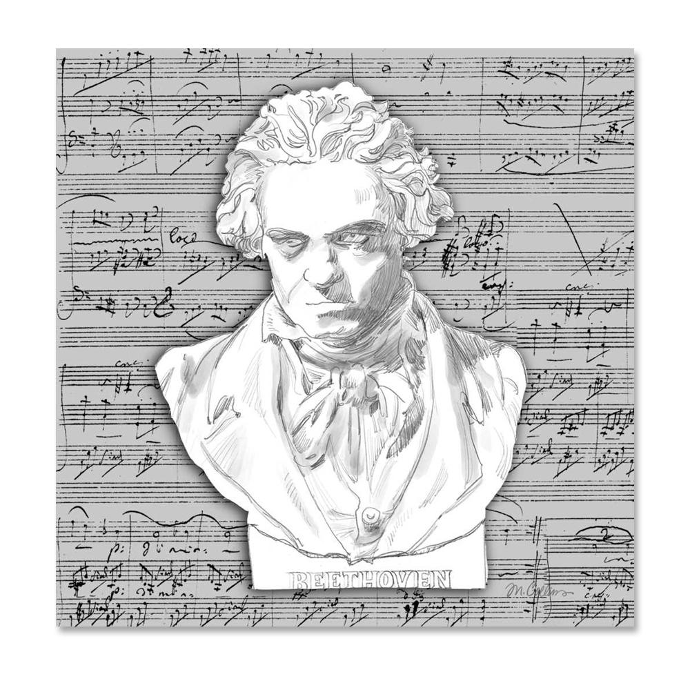 Beethoven Paper Napkins - Luncheon